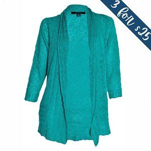 3/$25 Fever Fly Away Slub-Knit Open-Front Cardigan